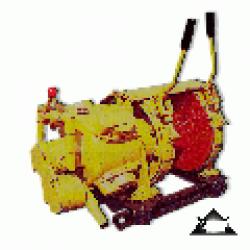 Лебедка шахтная вспомогательная пневматическая ЛП