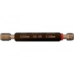 Пробка (ПР+НЕ) (Калибры резьбовые DIN13 6g)