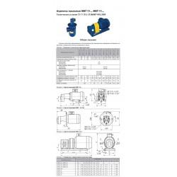 Агрегаты насосные МБГ-11... (БГ-11... ) МВГ-11...(ВГ-11...)