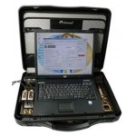 Портативный 2-х канальный расходомер-счетчик для гомогенных сред и воды с ноутбуком (портативный вариант)