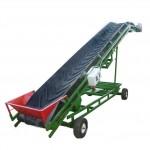 Ленточный конвейер передвижной, транспортер передвижной ленточный