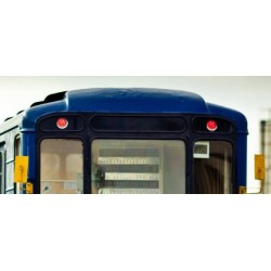 Плата светодиодной подсветки – красные фары для оборудования вагонов метрополитена